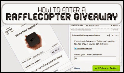 How-To-Enter-A-Rafflecopter-Giveaway