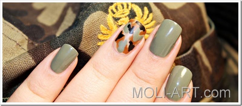 Military Nails Moli Art Beauty Blog