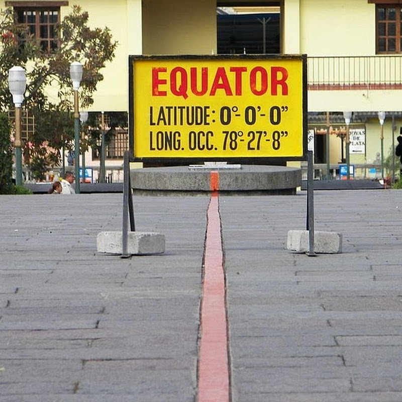 The Equator in Ecuador