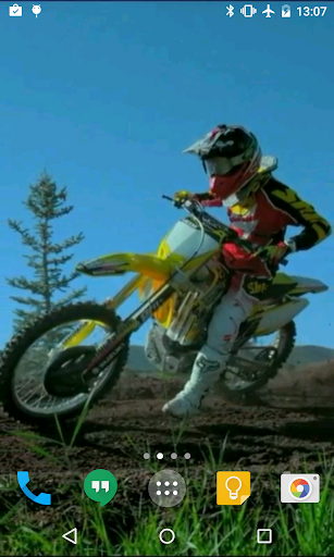 Motocross HD Live Wallpaper
