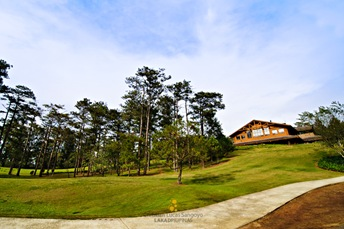 The Club House at Camp John Hay's Golf Course