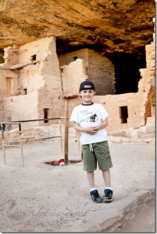 Ethan at Spruce Tree House
