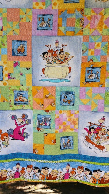 Center of Flintstone's Quilt