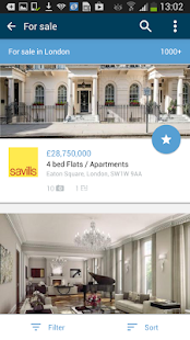 OnTheMarket Property Search- screenshot thumbnail