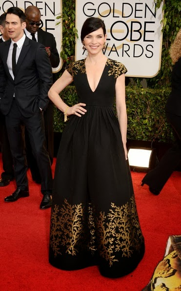 Julianna Margulies attends the 71st Annual Golden Globe Awards