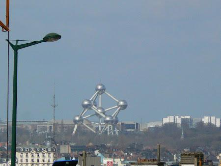 Monument Belgia: Atomium Bruxelles