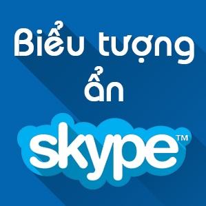 Biểu tượng cảm xúc Skype - Icon mặt cười ẩn Skype