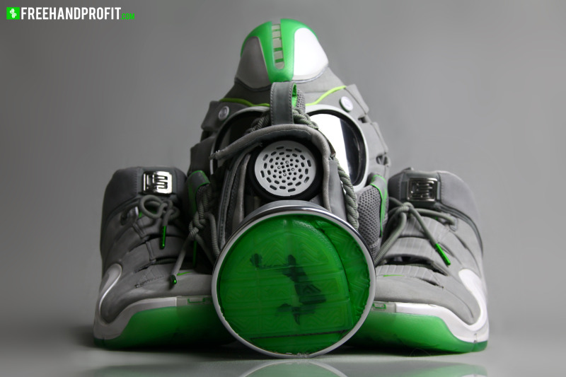 4a14ceca5e8a LeBron IV Dunkman Inspired Gas Mask By Freehand Profit .. ...