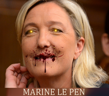 MARINE LE PEN - RACISM AT WORK