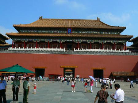 Obiective turistice China: Orasul interzis din Beijing