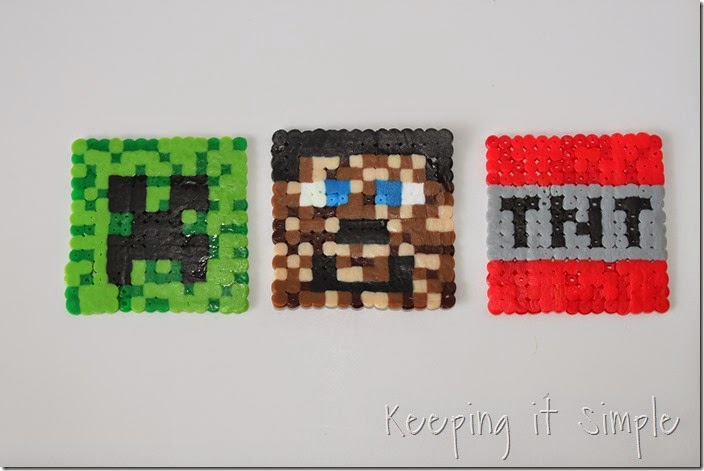 Minecraft-melty-beads #kidscraft #minecraft (9)