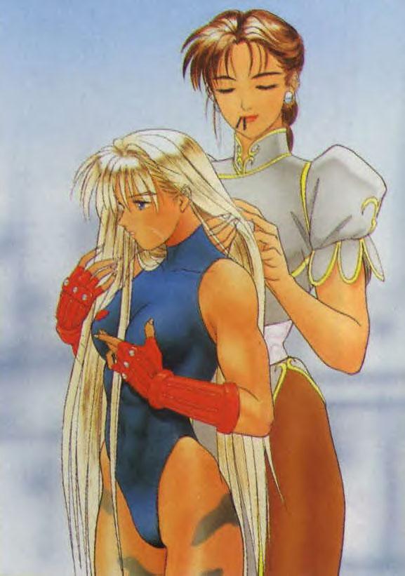 Street Fighter Lesbian 108