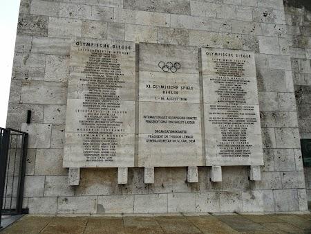 Lista campioni olimpici Berlin 1936
