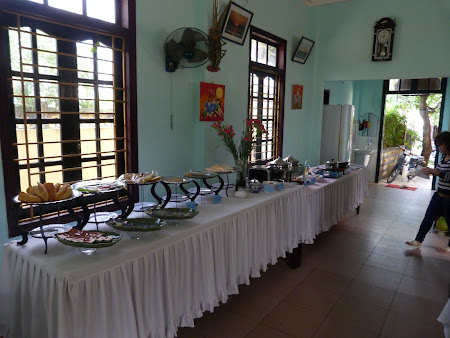 Cazare Vietnam: mic dejun Hotel Hai Au Hoian