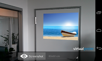 Screenshot of Virtual Poster