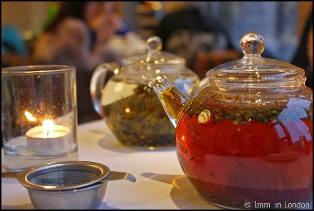 Glass teapots - Europa Belfast afternoon tea