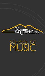 KSU School of Music screenshot