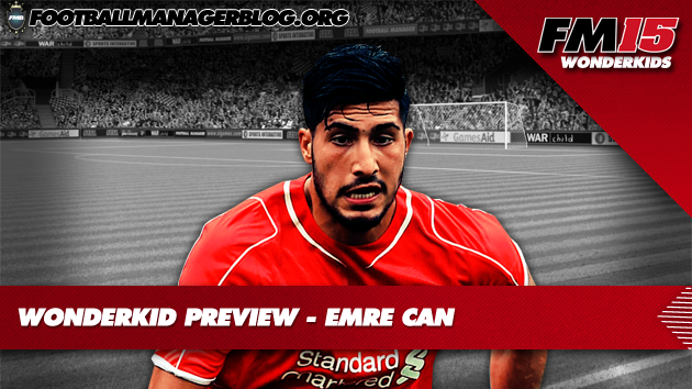 Emre Can Football Manager 2015