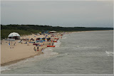 Strand in Miedzyzdroje