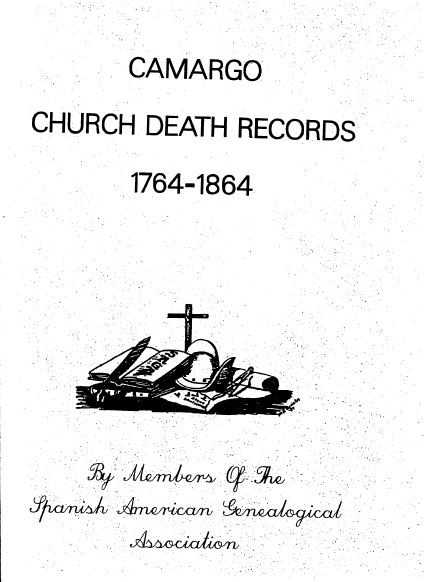 Camargo Church Death Records 1764 - 1864.JPG