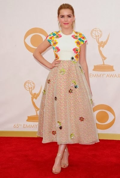 Kiernan Shipka 65th Primetime Emmy Awards