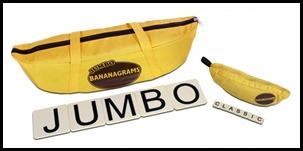 Jumbo and Classic Bananagrams