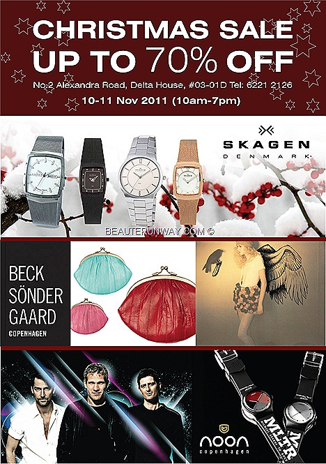 Skagen Noon Watches Michael Learns To Rock Beck Sonder gaard clutches