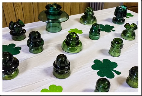 Green Glass Insulators