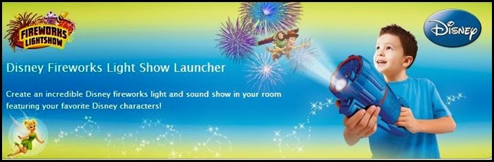 Disney Fireworks Light Show Launcher