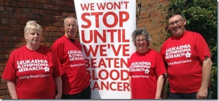 Leukaemia & Lymphoma Research in South Cheshire