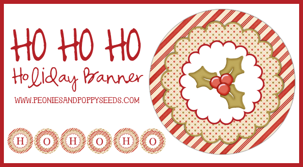 ho ho ho holiday banner copy