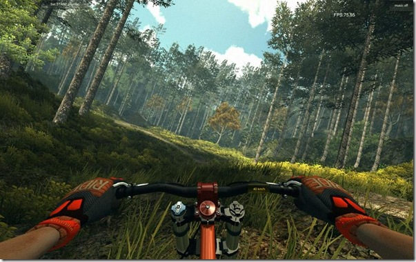 MTBFreeride simulatore di bici per Windows