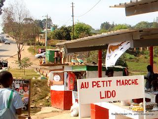 un des marchés de Lubumbashi. Radio Okapi/ Ph. John Bompengo