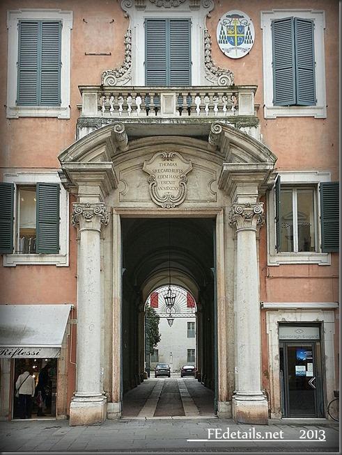Palazzo Arcivescovile, Ferrara - Archbishop's Palace, Ferrara, Italy, Photo1