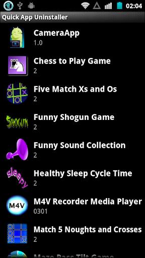 Quick App Uninstaller
