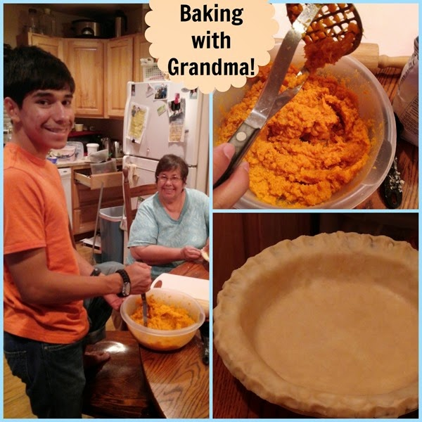 Baking with Grandma