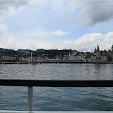 Blick nach Luzern vom Vierwaldstättersee