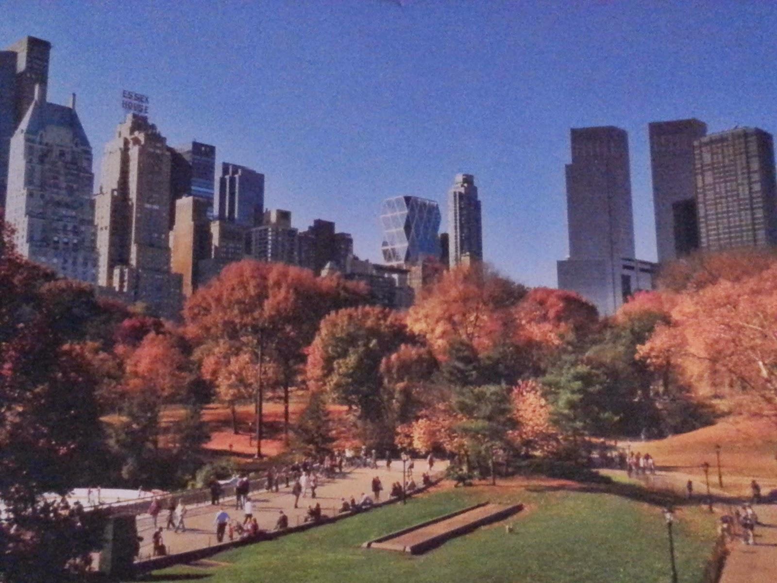 central park oktober