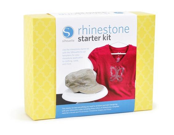rhinestone starter kit on white