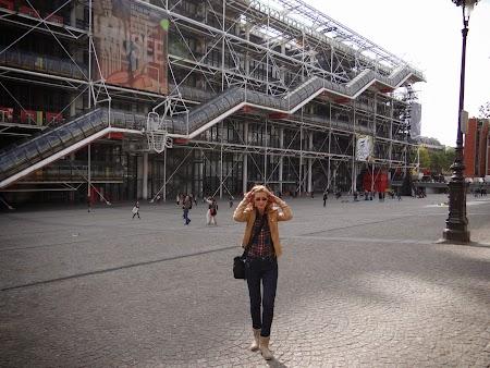 Obiective turistice Franta: Centrul Pompidou