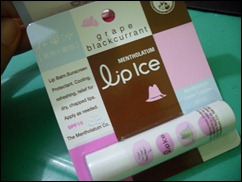 LipIce Grape Blackcurrant