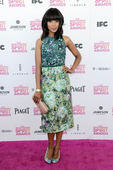 Kerry Washington attends the 2013 Film Independent Spirit Awards