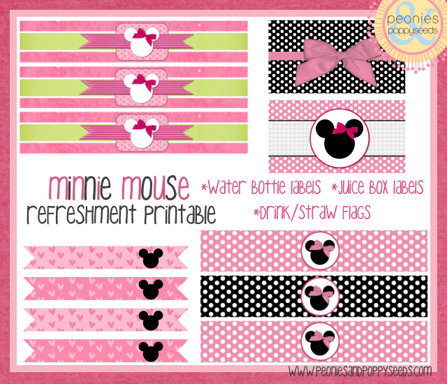 minnie mouse refreshment printable copy