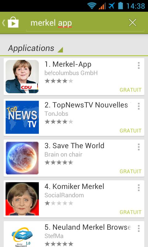 Merkel App