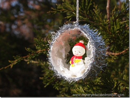 #NUO2012 Winking Snowman Christmas Ornament