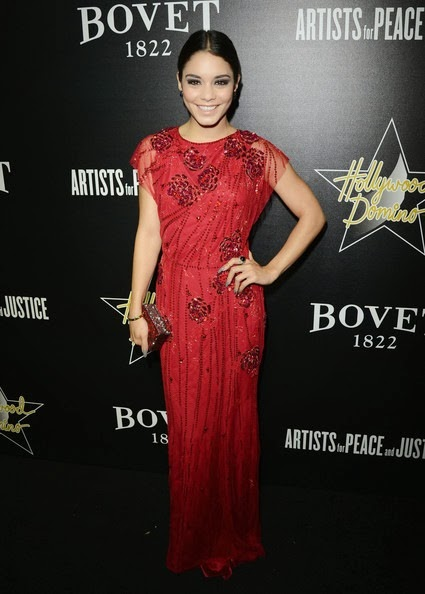Vanessa Hudgens Hollywood Domino Bovet