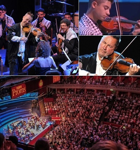 Nigel Kennedy uses 'apartheid' word at the Proms