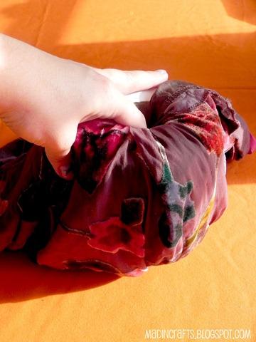 no sew fabric pumpkin tp roll