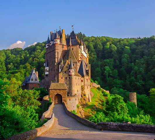 Eltz castle on Mosel Valley