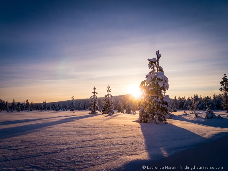 Snowy landscape finland Panasonic G6